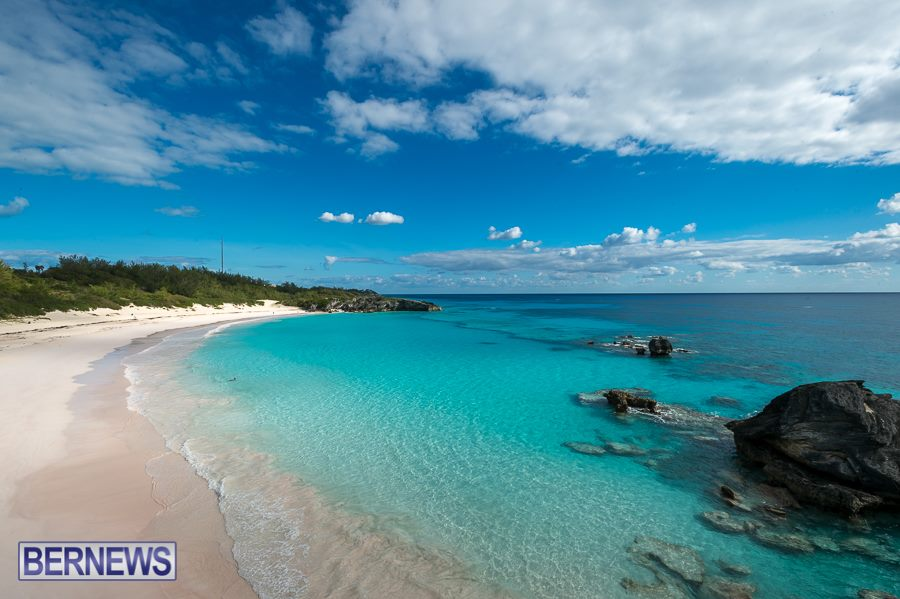 587 One of the most beautiful beaches on the planet. Horseshoe Bay beach.