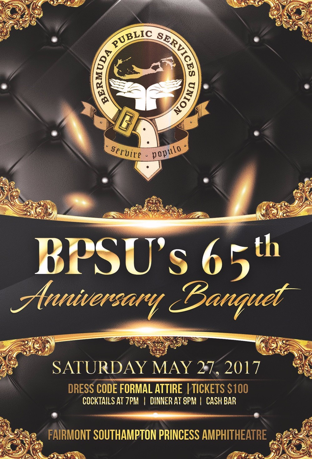 65th Anniversary - Banquet Bermuda May 17 2017