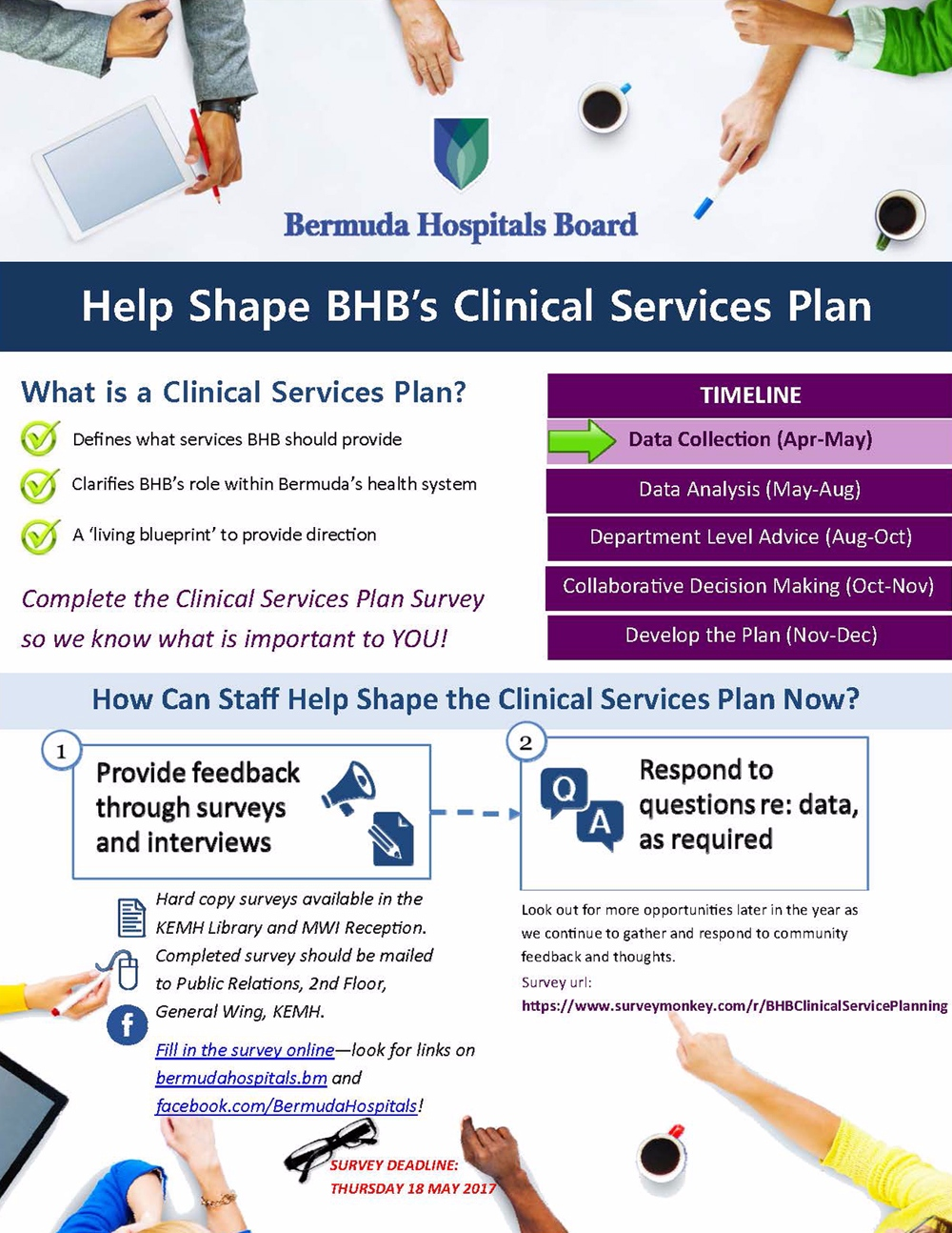 BHB Clinical Services Survey Flyer - Public - May2017