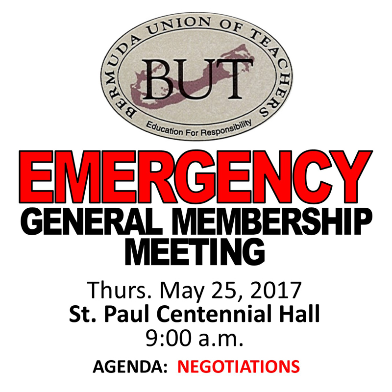 Bermuda Union of Teachers May 24 2017