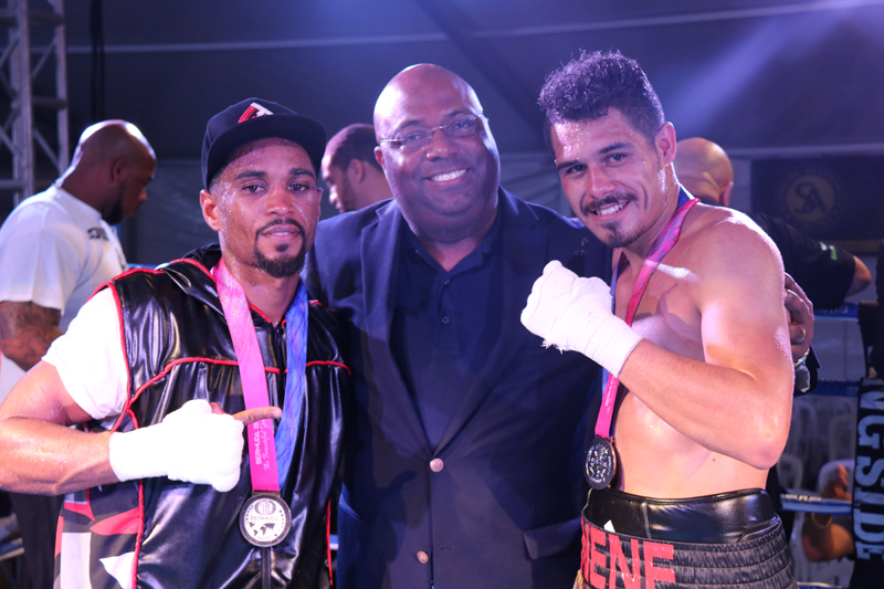 Boxing Bermuda May 8 2017