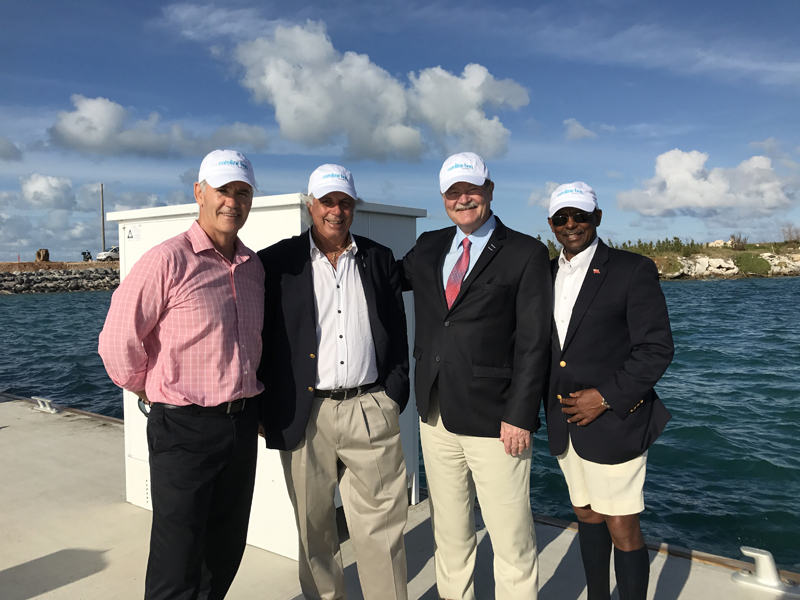 Caroline Bay Partnership With BGA Bermuda May 2017