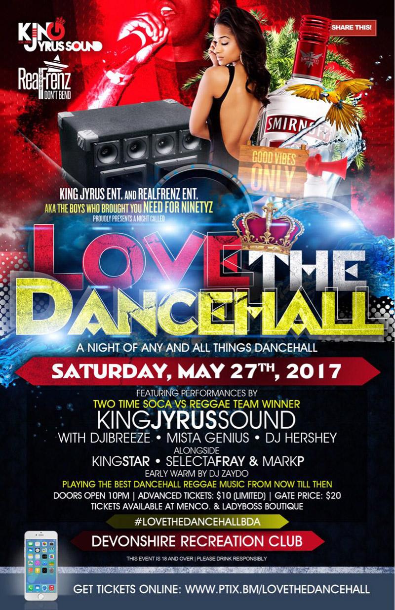 Dancehall Party Bermuda May 2017