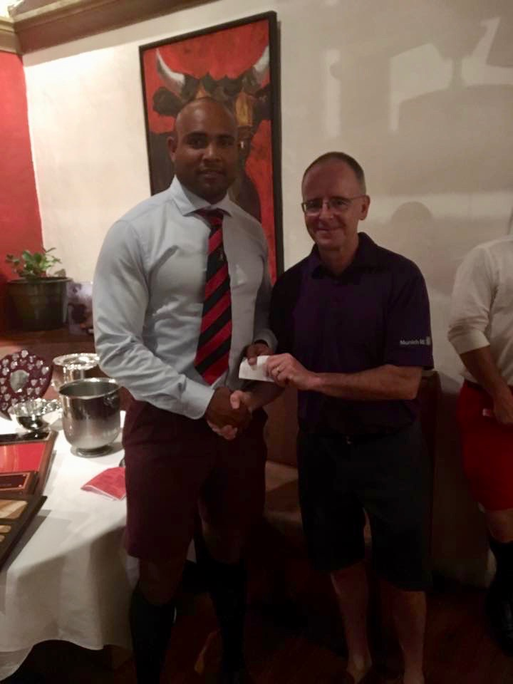 James O'Shaugnessey Tashon DeSilva Bermuda May 11 2017