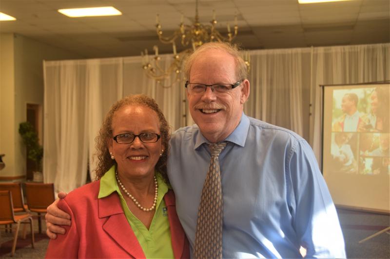 Judith Burgess and Jerry Moe Bermuda May 2017