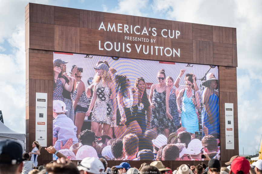 Ladies Day At The 35th America's Cup Bermuda May 2017