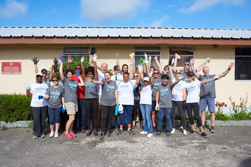 Marsh & Guy Carpenter Community Day Bermuda May 2017