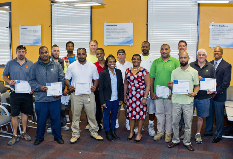 Minister Construction Safety Certification Bermuda May 15 2017 (2)