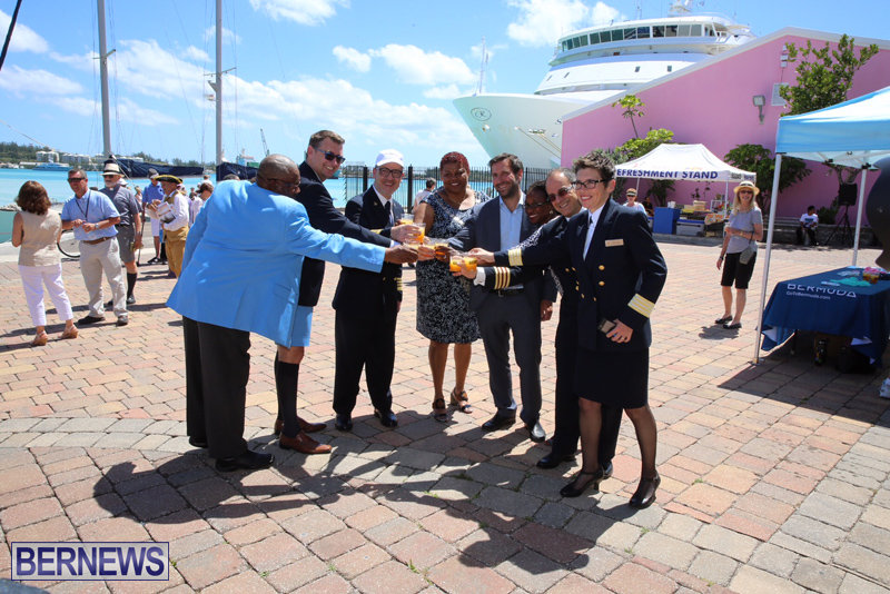 Minister Fahy, Town of St George & NCL Bermuda May 16 2017 (11)