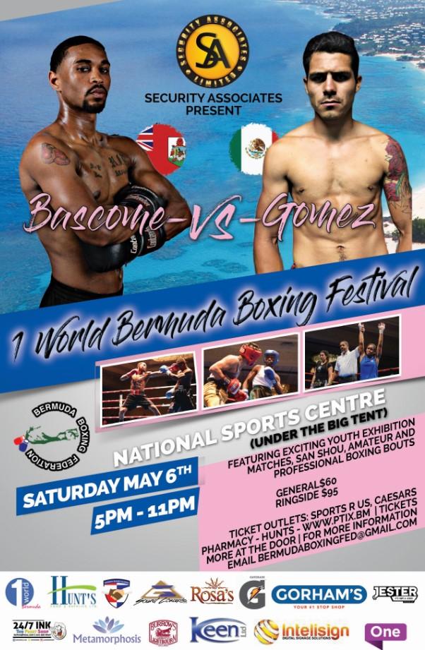 One World Bermuda Boxing May 2017