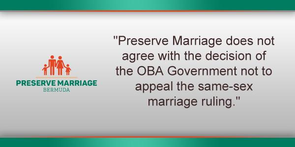 Preserve Marriage Bermuda May 11 2017 TC