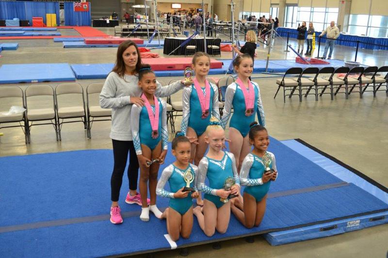 Quality Gymnastics Bermuda May 2017