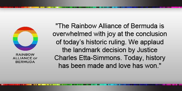 Rainbow Alliance of Bermuda May 5 2017 TC