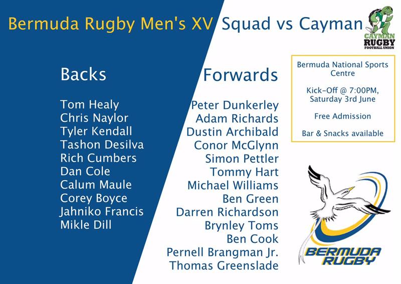 Rugby Bermuda May 30 2017