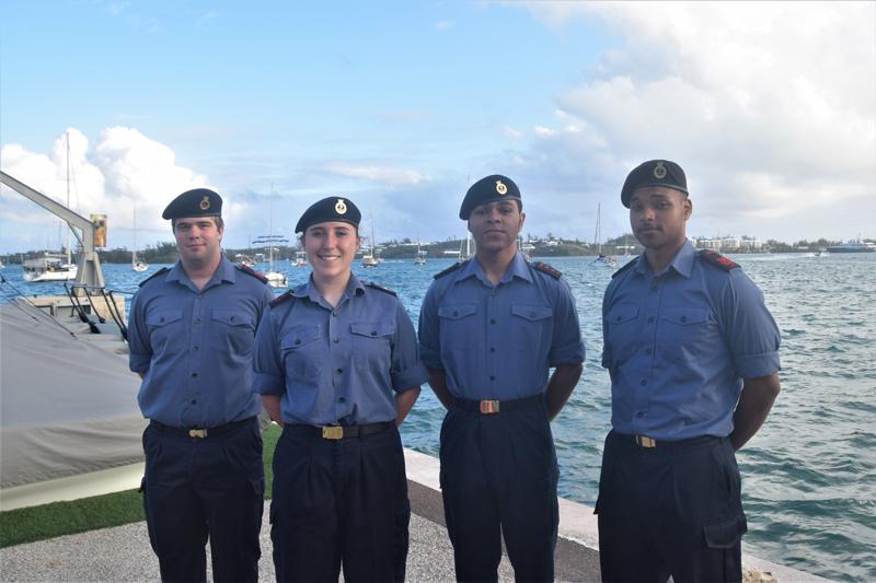 Sea Cadets Tall Ships Bermuda 11 May 2017