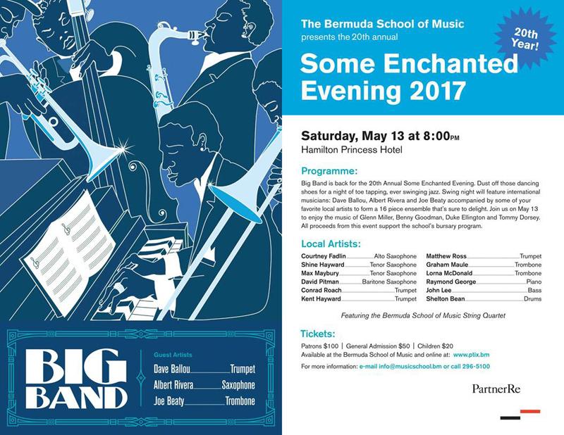Some Enchanted Evening Bermuda May 2017