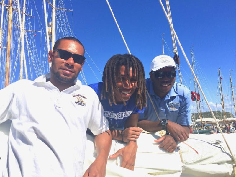 Watchleaders on Spirit of Bermuda May 2017
