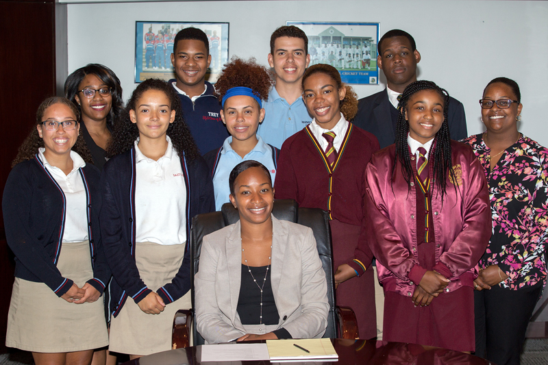 Youth Parliament Roundtable Bermuda May 25 2017