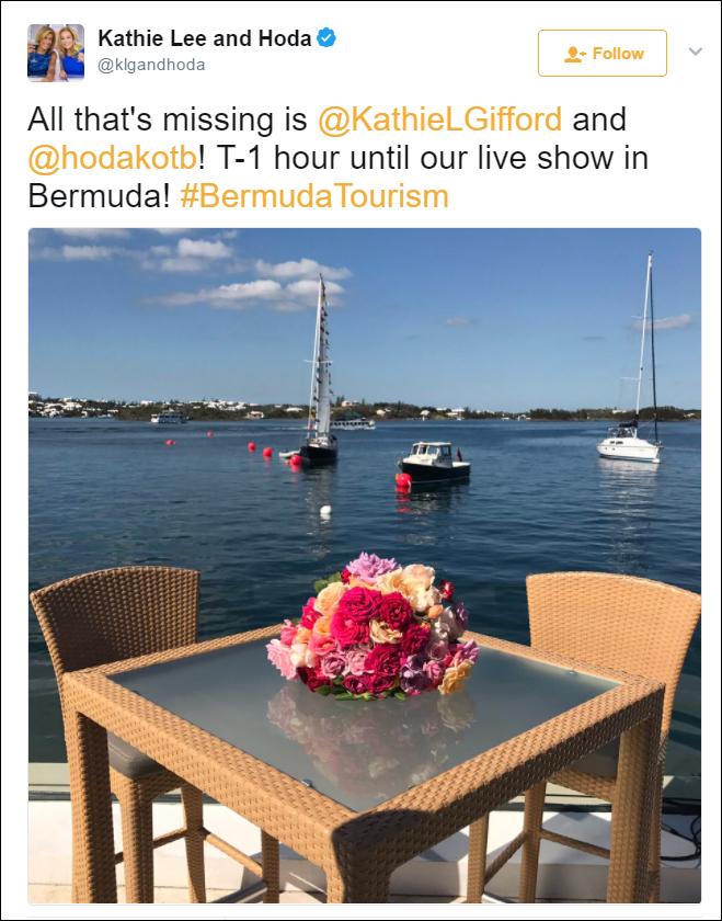 twitter klgandhoda Bermuda May 18 2017 2