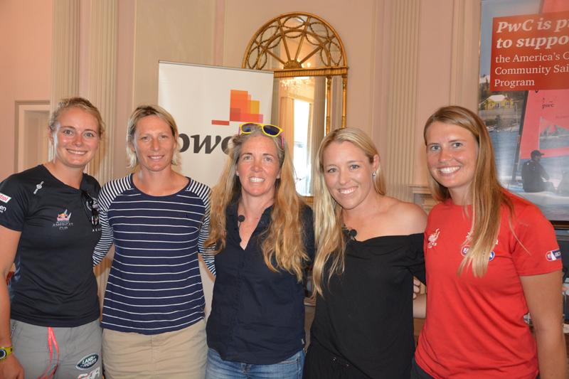 AC top women in sailing panel Bermuda June 2017 (2)