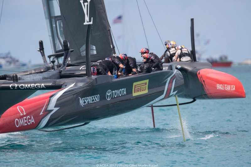 America's Cup Match, Race Day 2 June 18