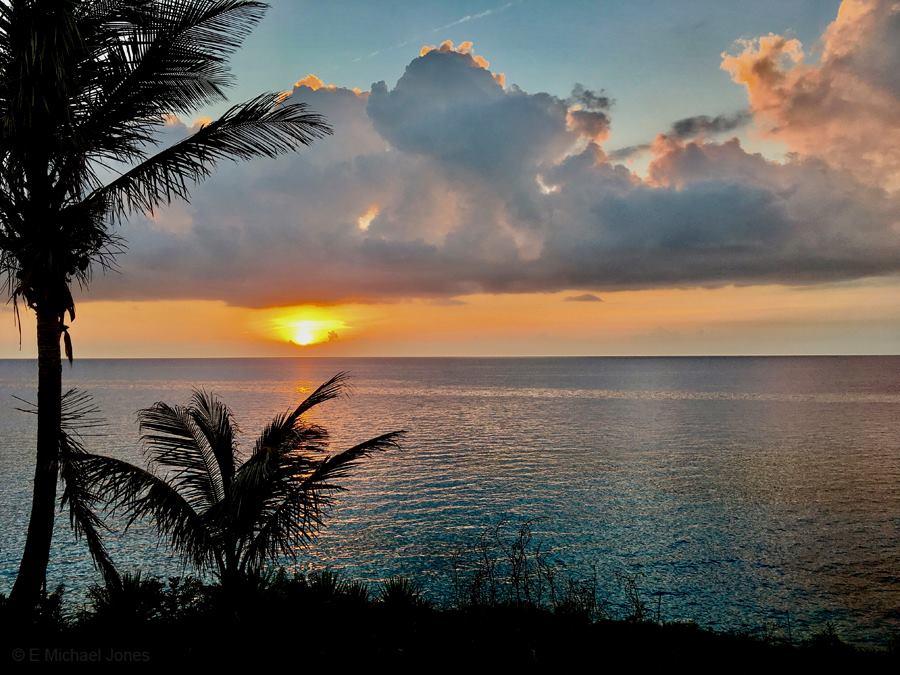Beautiful Bermuda sunset