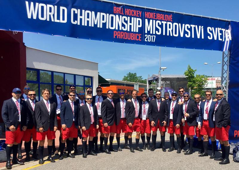 Bermuda Ball Hockey Team June 2017