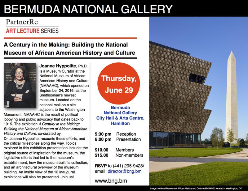 Bermuda National Gallery June 2017