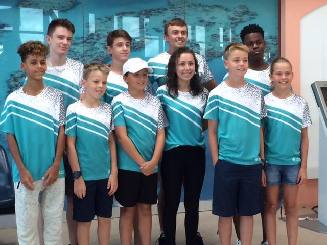 Bermuda National Squash Team June 2017