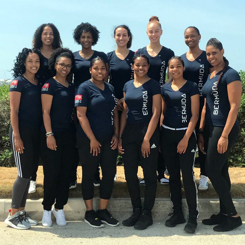Bermuda Netball Team June 2017