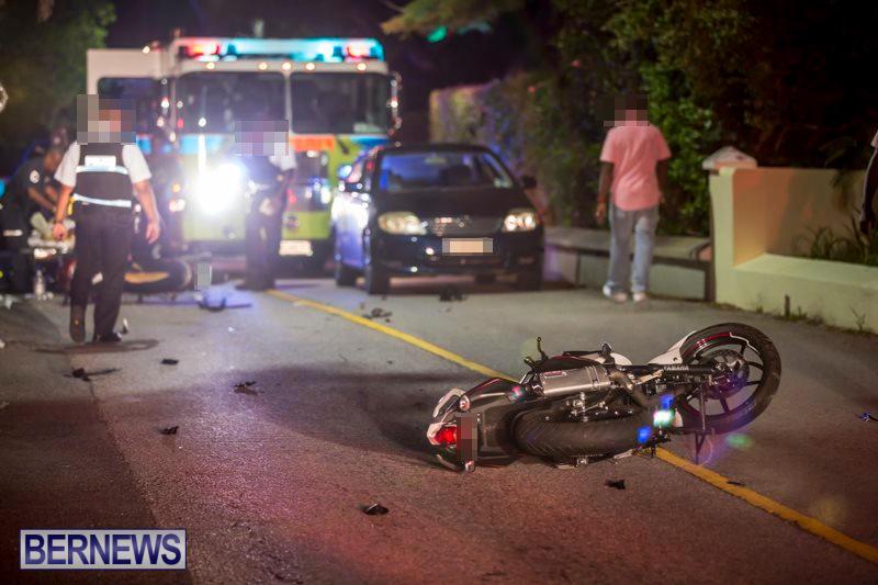 Bike Collision Harbour Road Bermuda, June 21 2017_5496