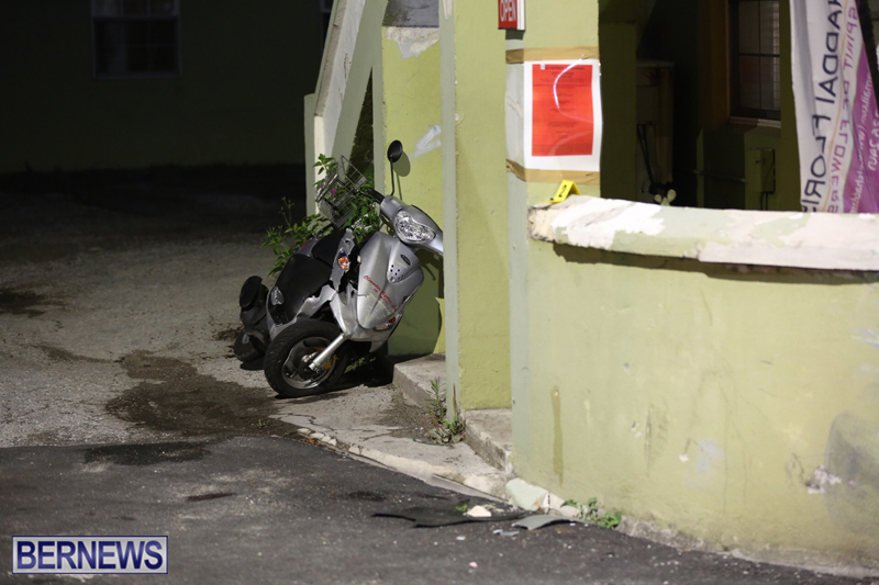 Collision in Somerset Bermuda June 12 2017