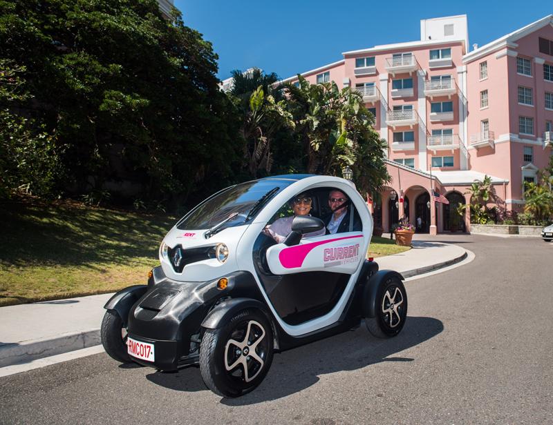 HP Twizy On Road Bermuda June 5 2017 (3)