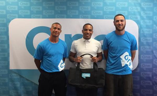 Lionel Cann, Don Foggo and Jordan DeSilva Bermuda June 2017
