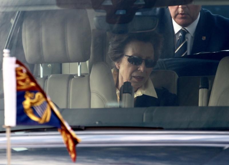 Princess Royal's Arrival in Bermuda 25 June (3)