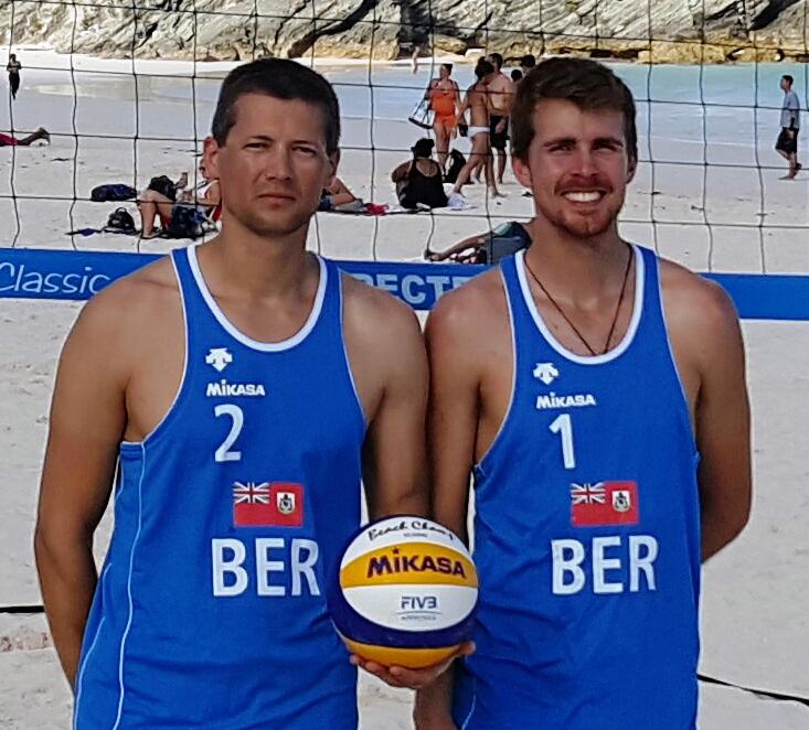 Volleyball Men's Beach Team Bermuda June 2017