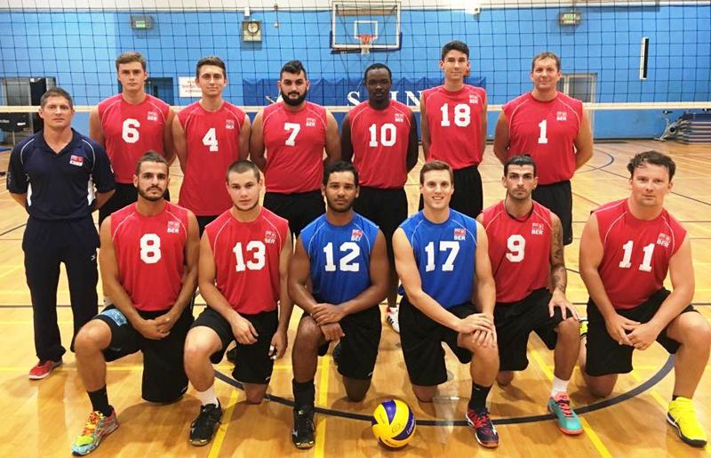 Volleyball Men's Team Bermuda June 2017