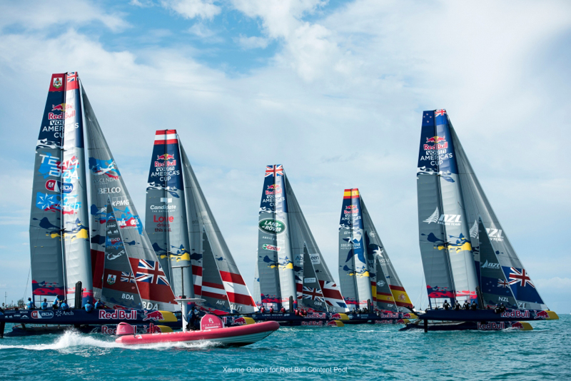Red Bull Youth America's Cup group B