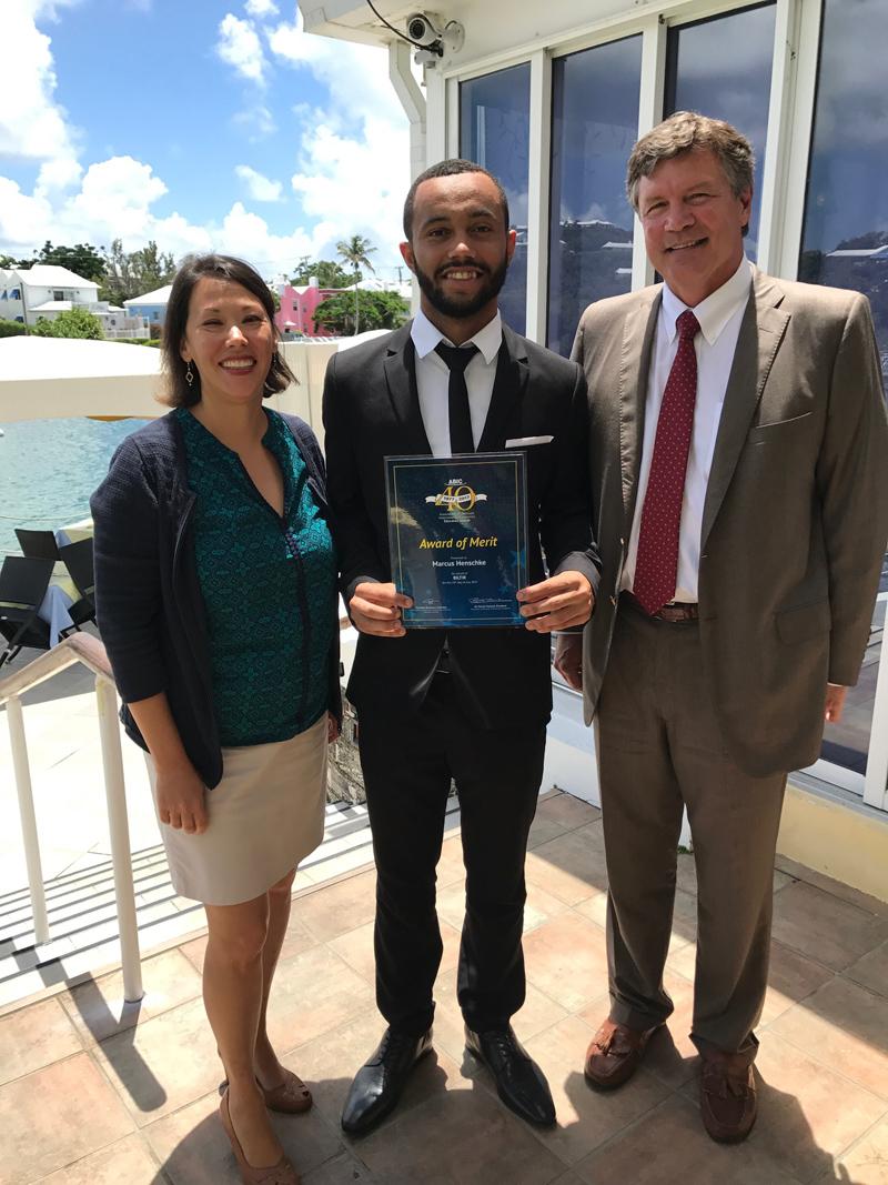 BILTIR Scholarship Marcus Henschke Bermuda July 19 2017