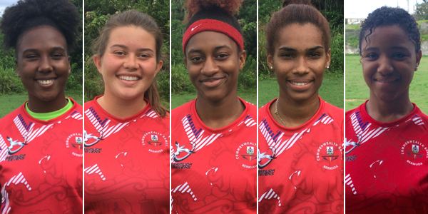Bermuda U18 Womens Team July 2017 TC