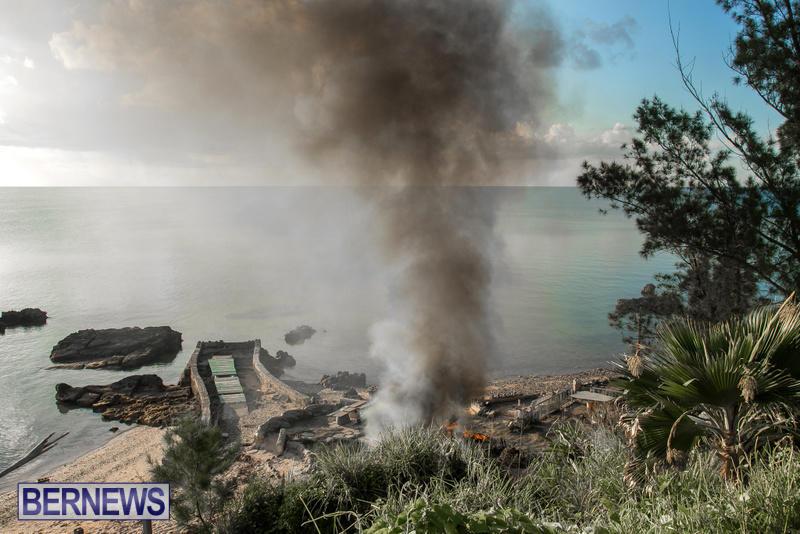 Boat Brush Fire Dockyard Bermuda, July 13 2017 (1)