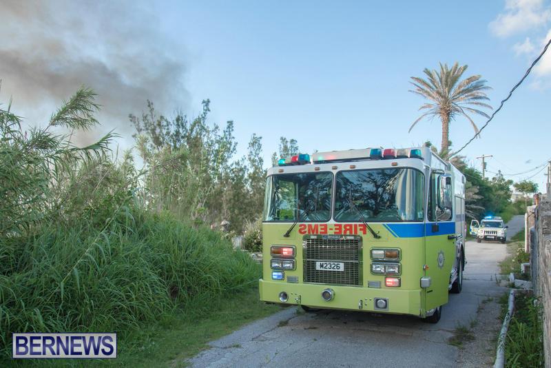 Boat Brush Fire Dockyard Bermuda, July 13 2017 (6)