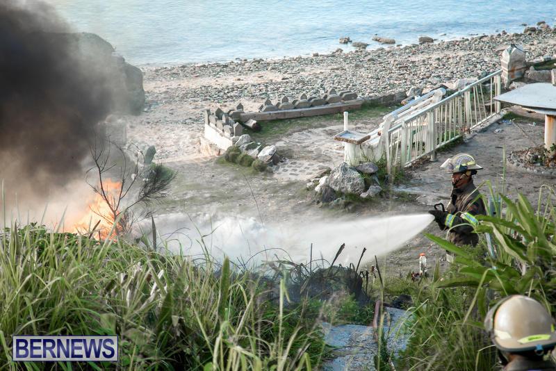 Boat Brush Fire Dockyard Bermuda, July 13 2017 (8)