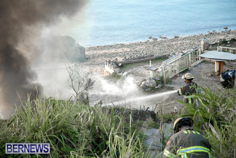 Boat Brush Fire Dockyard Bermuda, July 13 2017 (9)