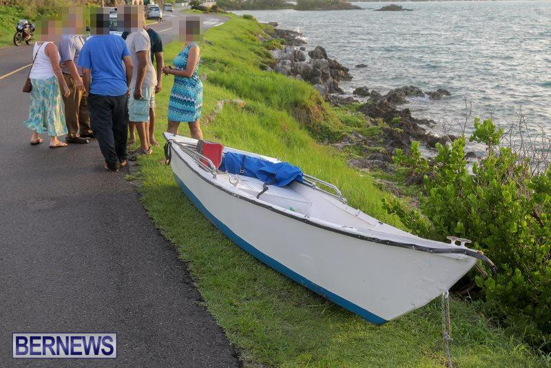 Capsized Boat Rescue Bermuda, July 21 2017 (2)