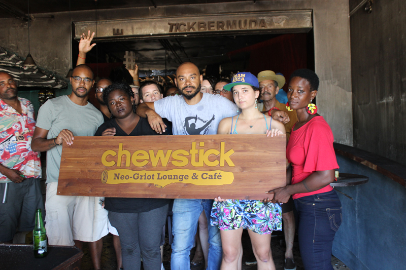 Chewstick Foundation Bermuda July 2017