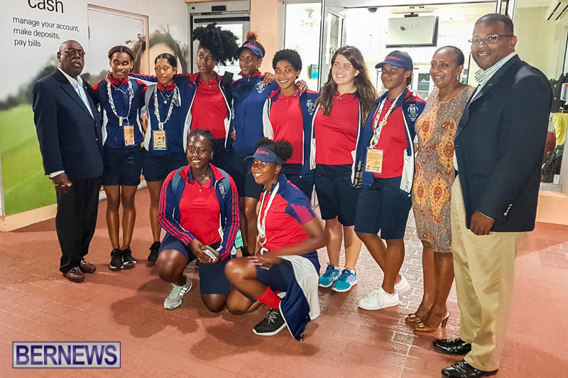 Commonwealth Youth Games Athletes Bermuda, July 23 2017