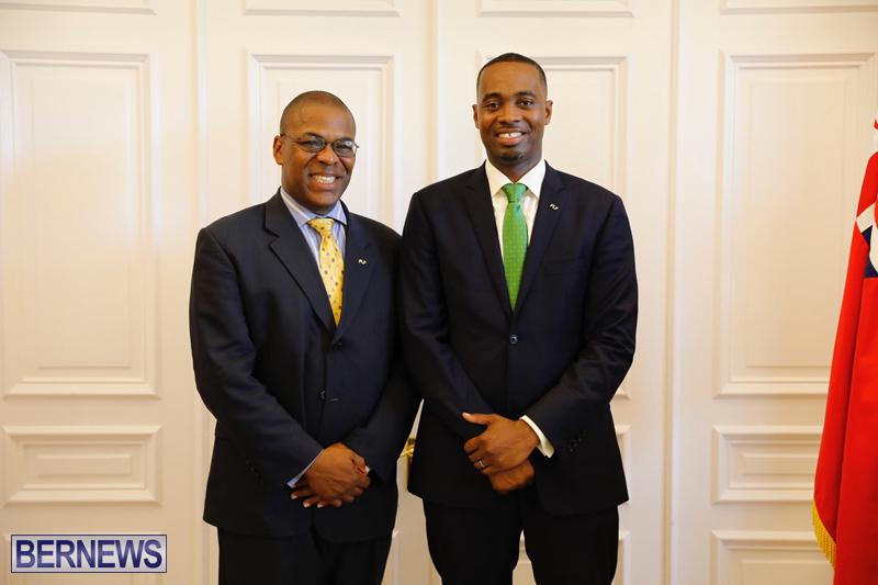 David Burt Sworn In As New Premier Bermuda July 19 2017 (1)