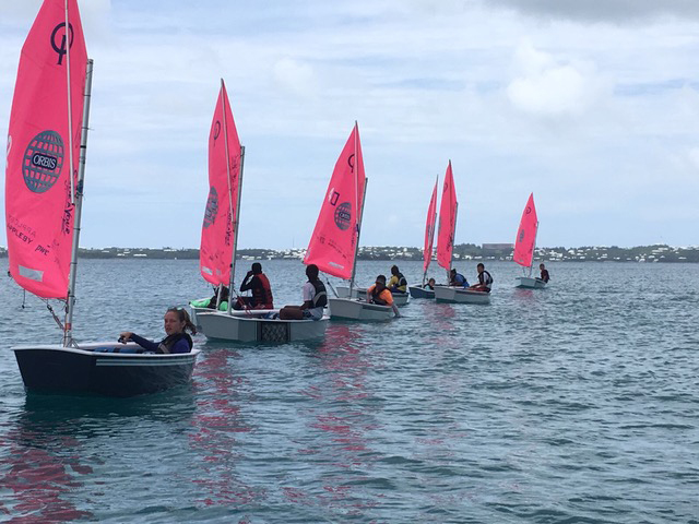 Expansion of Youth Sailing Opportunities SBC Bermuda July 2017 (2)