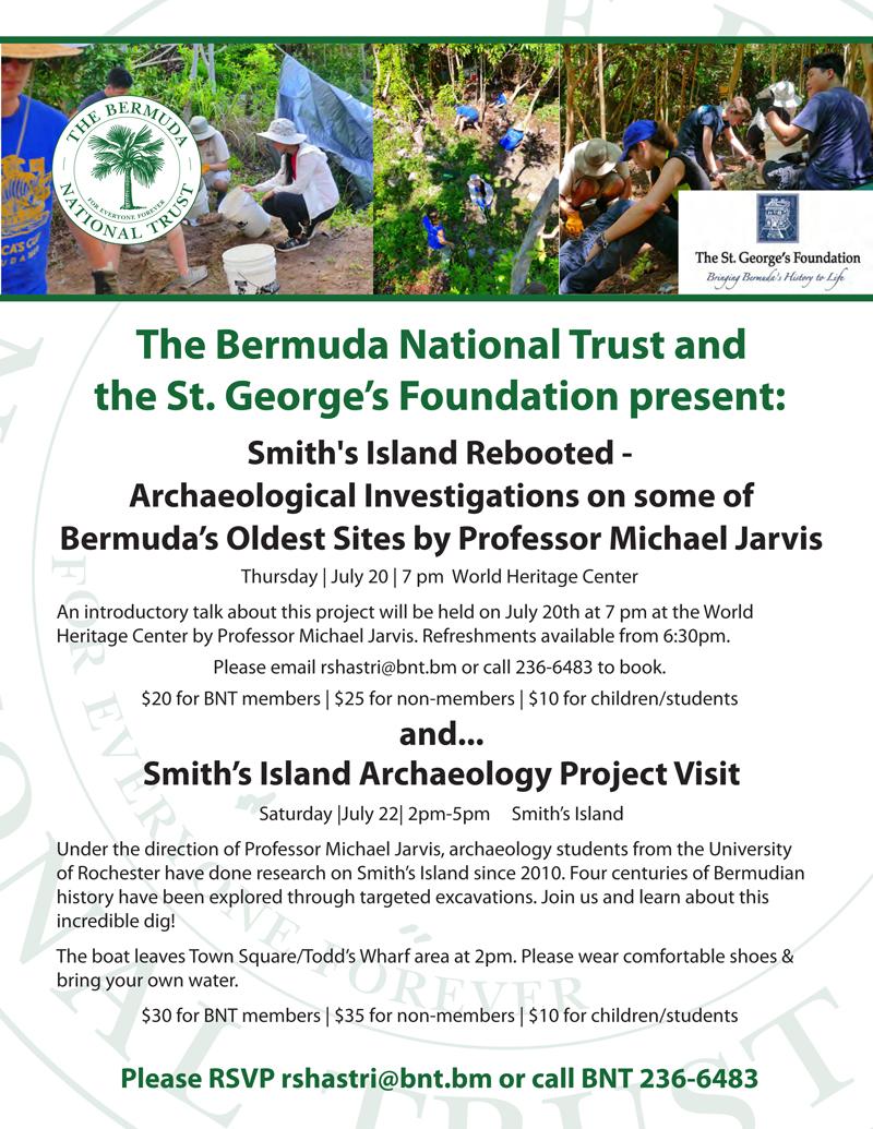 Michael Jarvis Smith Island Bermuda July 2017